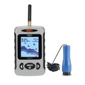 LUCKY FF718D  - 氷2.2インチLCDポータブル魚ファインダー屋外200KHz / 83KHzデュアルソナー周波数100M魚の釣りのための魚の検出器