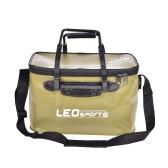 40 cm / 45 cm plegable al aire libre bolsa de pesca EVA caso portátil que acampa yendo de excursión el cubo con la manija