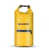 Sacchetto impermeabile di galleggiamento del sacchetto impermeabile di 20L che canta kajaking della borsa impermeabile del sacco della canoa che viaggia escursione di campeggio borsa asciutta