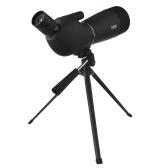 Telescopio monocular de viaje impermeable con trípode
