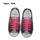 No Tie Shoelaces Водонепроницаемый эластичный силиконовый бесцветный шнурок для обуви
