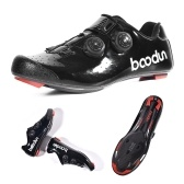 Road Cycling Shoe Ultralight Carbon Fiber Road Bike Athletic Riding Shoes