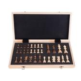 Портативная деревянная магнитная шахматная доска складная доска игра в шахматы