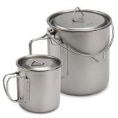 400ml 750ml Cup Set