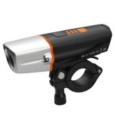 Luz de bicicleta USB recargable IP65 bicicleta luz delantera LED