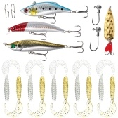 18pcs Fishing Lures Kit