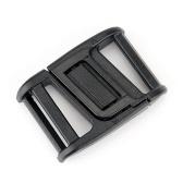 Fivela de plástico magnética universal fivela de liberação lateral fivela de cinto faça você mesmo para bagagem de mochila de cinto
