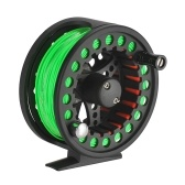 2+1BB Large Arbor Fly Fishing Reel Lightweight CNC Machined Aluminum Alloy Fly Fishing Reel with Line