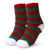 Chaussettes chaudes pour adultes à motifs de chaussettes de vacances de Noël