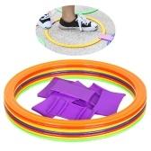 10pcs 28cm/38cm Agility Speed Ring Football Soccer Basketball Sport Training Rings Equipment
