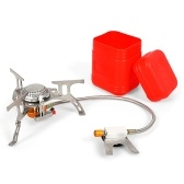 3500W Ultralight Portable Camping Stove with Storage Case for Outdoor Backpacking Hiking