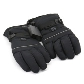 Electric Heated Gloves Three-Gear Thermostat for Skiing Walking Hiking Climbing Driving Cold Weather