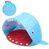 Outdoor Camping Tent Pop-up Fun-Play Tent Installation-free Shark Tent