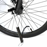ミニポータブルMTBロード自転車/バイク用のフロアポンプ ハンドエアーポンプ 外ホース付きのタイヤ/ボールポンプ プレスタ&シ  ュレーダーとの交換性ある