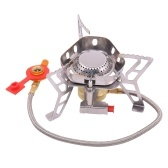 Mini Portable Gas Stove Split Type Outdoor Camping Windproof Furnace Gas Burner