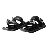 Mini Snowboard Shoes Outdoor Sports Wear-resistant Skiing Shoes Portable Mini Ski Skates