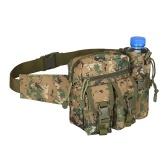 Поясная сумка унисекс с карманом для бутылки Водонепроницаемая износостойкая легкая большая емкость Туризм Велоспорт на открытом воздухе Поясная сумка Fanny Pack