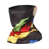 Шейные гетры, солнцезащитные пылезащитные балаклавы с принтом ушей, эластичная дышащая бандана, накидка для лица, велосипедный шарф для бега