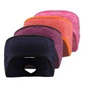4 шт. Для мужчин и женщин, спортивная повязка на голову, теплая ветрозащитная флисовая эластичная лента для бега, велоспорта, йоги, повязка для волос