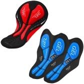 3 упаковки велосипедных шорт с гелевой подкладкой для мужчин и женщин, велосипедное нижнее белье, штаны (2 синих и 1 красный)