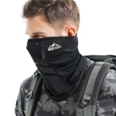 Herren Cooling Neck Gamasche UV-Schutz Atmungsaktiv Winddicht Sommer Schal Gesichtsschutz Sturmhaube für Radfahren Laufen