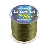 Lixada 500M Super Strong Multifilamentsaiten Polyethylen Geflochtene Angelschnur 25LB zu 60LB