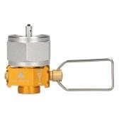 Gas Saver Plus Conversor de gás Shifter Refil Tanque de gás Adaptador de conversão Válvula adaptadora de gás para camping, caminhadas, pesca