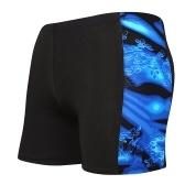 Calção de banho masculino de secagem rápida Calcinha esportiva com cordão Cueca boxer de verão calcinha elástica respirável calcinha calcinha maiô inferior