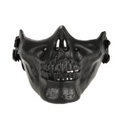 Outdoor-Kriegsspiel Tactical Mask Lower Half Face Mask Schutzwache Airsoft Paintball CS Armee Halloween Party Cosplay Maske Maske