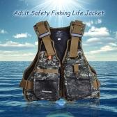 Giacca di salvataggio professionale di galleggiamento di sicurezza per adulti sopravvivenza di nuoto della maglia Kayak Vela Alla deriva con fischietto d