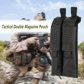 Tactical-Pistole Gewehr Doppel Magazin Mag Pouch 600D Oxford-Gewebe Mithelfer Pouch Utility Tool