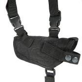 Tattico doppio spalla Horizontal Holster Universale militare regolabile sotto Holder doppio braccio portante