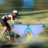 Polarisierte UV-Schutz-Radfahren-Sonnenbrille mit 4 Wechselobjektiven