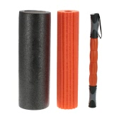 45 * 15cm 3-in-1 Yoga-Übung Fitness Massage Spike Yoga Foam Roller Yoga Spalte Massage Triggerpunkt-Stick Home Gym