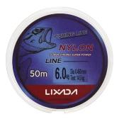 50m Fishing Line Thread Clear White Thin Fishing Line