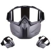 Motorrad Helm Reiten Abnehmbare Modular Gesichtsmaske Winddicht Atmungsaktive Schutzbrille Outdoors