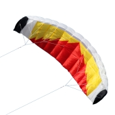 "79"" x 27.5"" Large Dual Line Stunt Parafoil Kite Outdoor Sports Fun Toy with 30M Line"