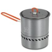 1.5L Открытый кувшин Повар Оборудование для кухни Инструменты Портативный поход для кемпинга Пикник Backpacking Mountaineering Pot Cookware