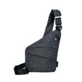 男性のための夏シングルショルダーバッグ耐水性クロスボディバッグ男性メッセンジャーチェストバッグ大容量防犯