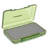 Lixada de dos caras impermeable Fly Box Easy Grip Foam Fly Hook caja de caja de pesca