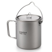 Lixada Ultralight 750ml Portables Titan Wasser