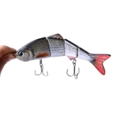 HENG JIA Esca artificiale per la pesca Wobbler Jointed Eel Fish Lure Hard Slow Sink Swimbait