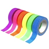 6 piezas 5m * 15mm Reactive UV Blacklight Tape