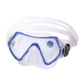 Kinder Tauchbrille Schnorchelausrüstung Kein Beschlagen Anti-Leck-Tauchbrille Schwimmbrille Silikonrock