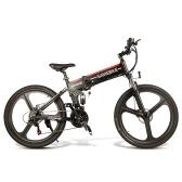 Samebike LO26-BKNEW 26-дюймовый складной электрический велосипед 10AH 350 Вт