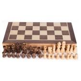 ポータブル木製磁気チェス盤