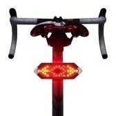 Велосипедный задний фонарь Велосипедный поворотный свет USB аккумуляторная светодиодная сигнальная лампа для горного дорожного велосипеда