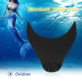 Mermaid Swim Fin Diving Monofin Con Pie Flipper para los Hijos Adultos