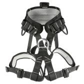 Cintura di sicurezza per addominali robusta professionale Cintura di arrampicata per roccia Cablaggio per discese in corda doppia di alpinismo