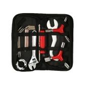 Herramientas de mantenimiento de bicicletas multifunción 12PCS Kit de herramientas de reparación de bicicletas